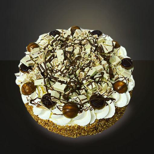 Afbeelding van chocolade suprise taart